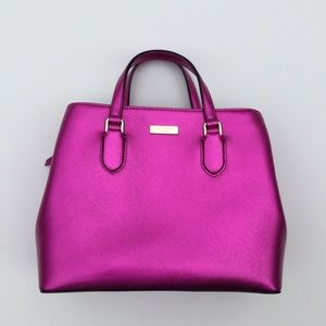 Like New Kate Spade Evangelie Satchel in Baja Rose